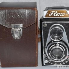Fotocamere: OCASION...REFLEX BIFOCAL (TLR)..LIPCA FLEXO+FUNDA (ALEMANIA, 1949)..FUNCIONA..MUY BUEN ESTADO. Lote 213688627