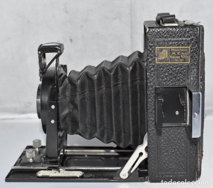 Cámara de fotos: RARA Y PEQUEÑA Y RARA, PLACAS DE 6,5x9..ZEISS IKON SUEVIA 24..ALEMANIA 1926.MUY BUEN ESTADO.FUNCIONA - Foto 7 - 213734566