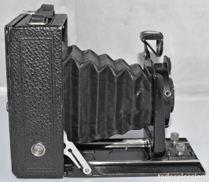 Cámara de fotos: RARA Y PEQUEÑA Y RARA, PLACAS DE 6,5x9..ZEISS IKON SUEVIA 24..ALEMANIA 1926.MUY BUEN ESTADO.FUNCIONA - Foto 12 - 213734566