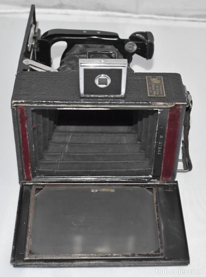 Cámara de fotos: RARA Y PEQUEÑA Y RARA, PLACAS DE 6,5x9..ZEISS IKON SUEVIA 24..ALEMANIA 1926.MUY BUEN ESTADO.FUNCIONA - Foto 19 - 213734566