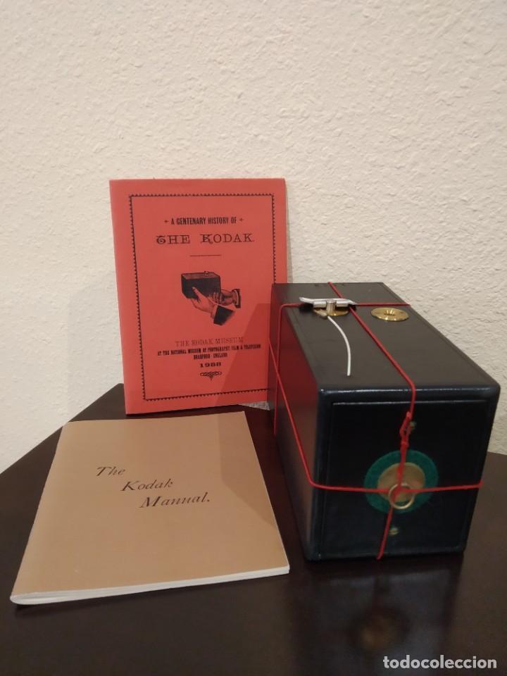 KODAK CAMERA REPLICA Nº 1 (1988) -COLECCIONISTAS, SERIE LIMITADA- (Cámaras Fotográficas - Antiguas (hasta 1950))