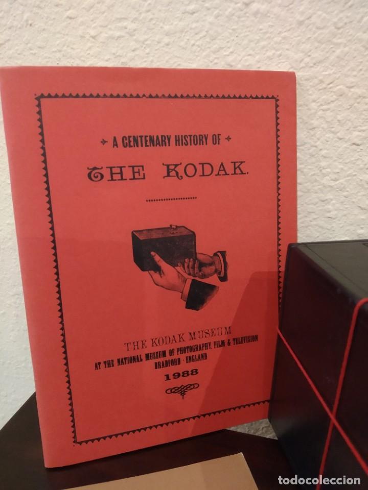 Cámara de fotos: KODAK CAMERA REPLICA Nº 1 (1988) -COLECCIONISTAS, SERIE LIMITADA- - Foto 3 - 214896695