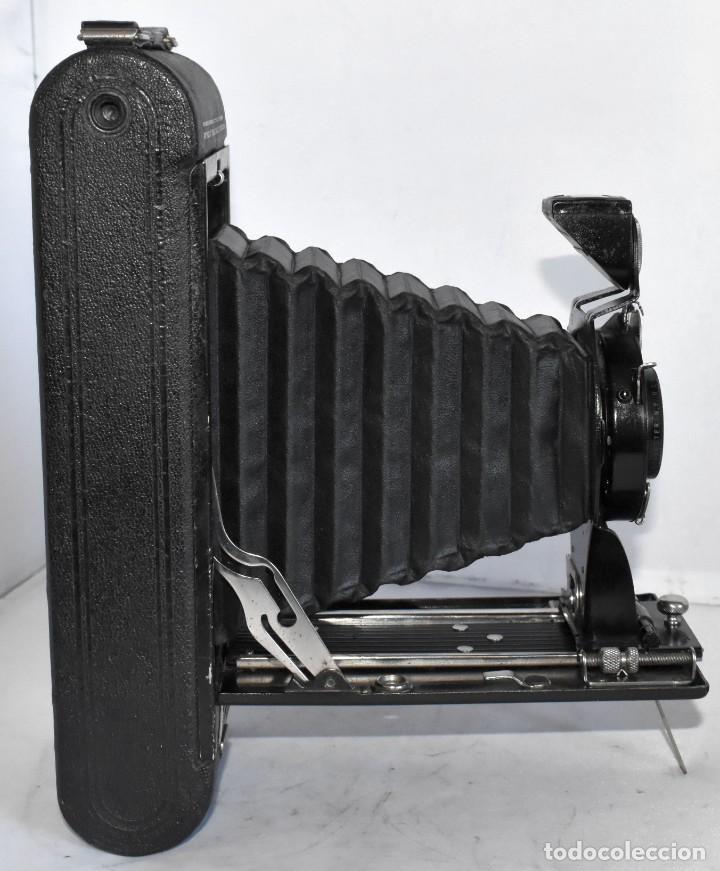 Cámara de fotos: ANTIGUEDAD, RAREZA..ENORME 23 cm..KODAK POCKET Nº 2C+PUNZÓN..BUEN ESTADO.FUNCIONA..USA 1925..OCASION - Foto 17 - 215831045