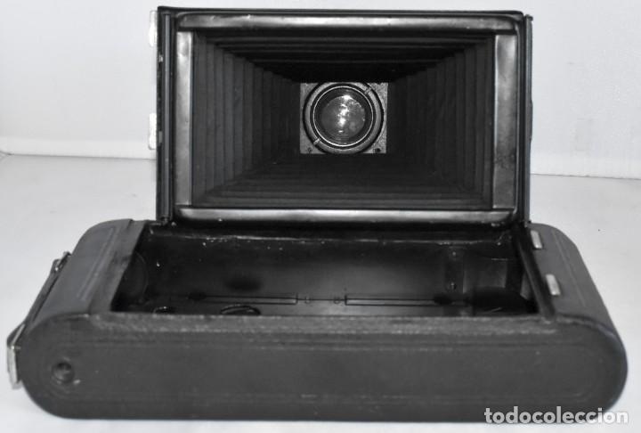 Cámara de fotos: ANTIGUEDAD, RAREZA..ENORME 23 cm..KODAK POCKET Nº 2C+PUNZÓN..BUEN ESTADO.FUNCIONA..USA 1925..OCASION - Foto 29 - 215831045