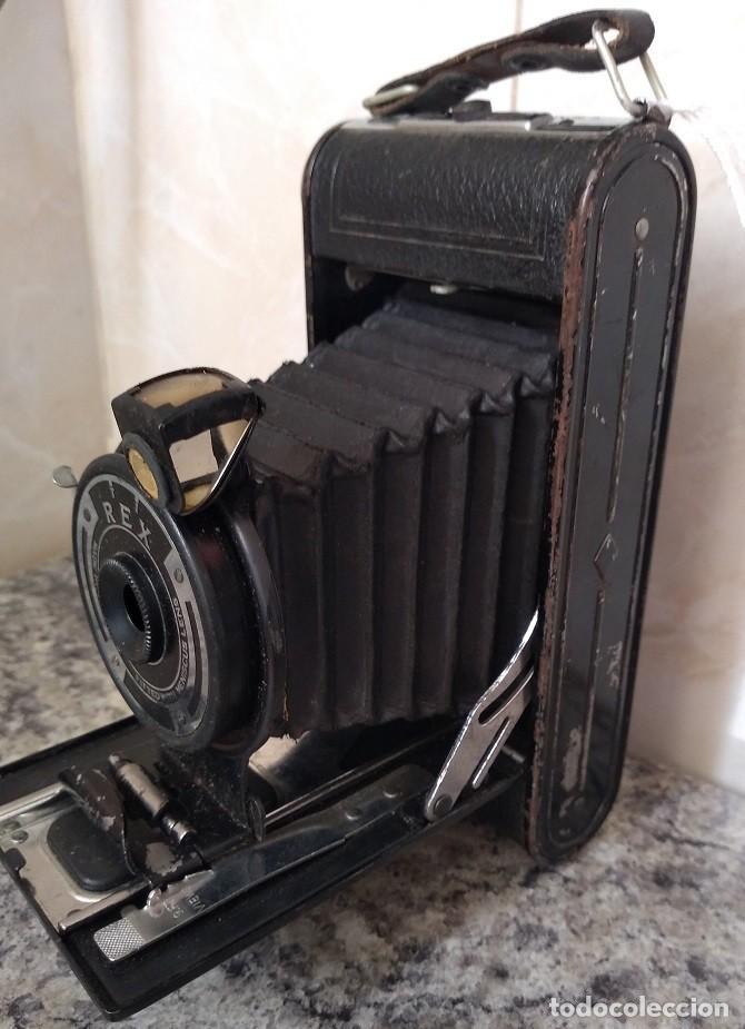 ANTIGUA CAMARA REX HECHA EN INGLATERRA EN LOS AÑOS 30 (Cámaras Fotográficas - Antiguas (hasta 1950))