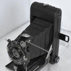 Cámara de fotos: GRAN CAMARA ANTIGUA, FUELLE...HOUGHTON THE MAY FAIR..INGLATERRA 1930..BUEN ESTADO. .FUNCIONA... Lote 217016361