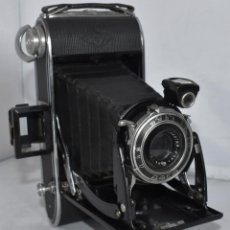 Cámara de fotos: ANTIGUA DE FUELLE..AGFA BILLY RECORD 7,7..ALEMANIA 1933-1942 (III REICH).. BUEN ESTADO.FUNCIONA. Lote 217469965