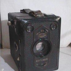 Cámara de fotos: CAMARA FOTOGRAFICA ZEISS IKON MODELO BOX TENGOR 54. 1932. ALEMANIA.. Lote 218908752