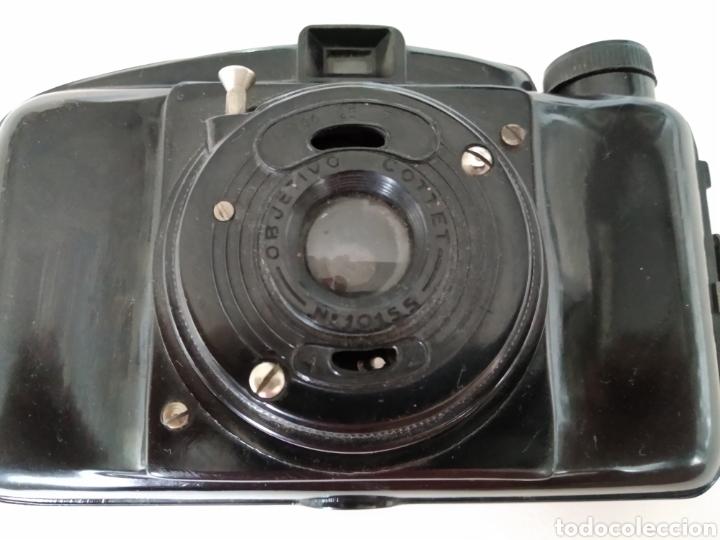 CÁMARA FOTOGRÁFICA DE BAQUELITA COTTEX (Cámaras Fotográficas - Antiguas (hasta 1950))