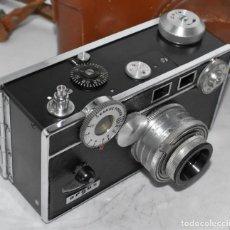 Cámara de fotos: TELEMETRICA .USA 1940..ARGUS C3+FUNDA+FILTRO.THE BRICK..LA DE HARRY POTTER.FUNCIONA.MUY BUEN ESTADO. Lote 219325097