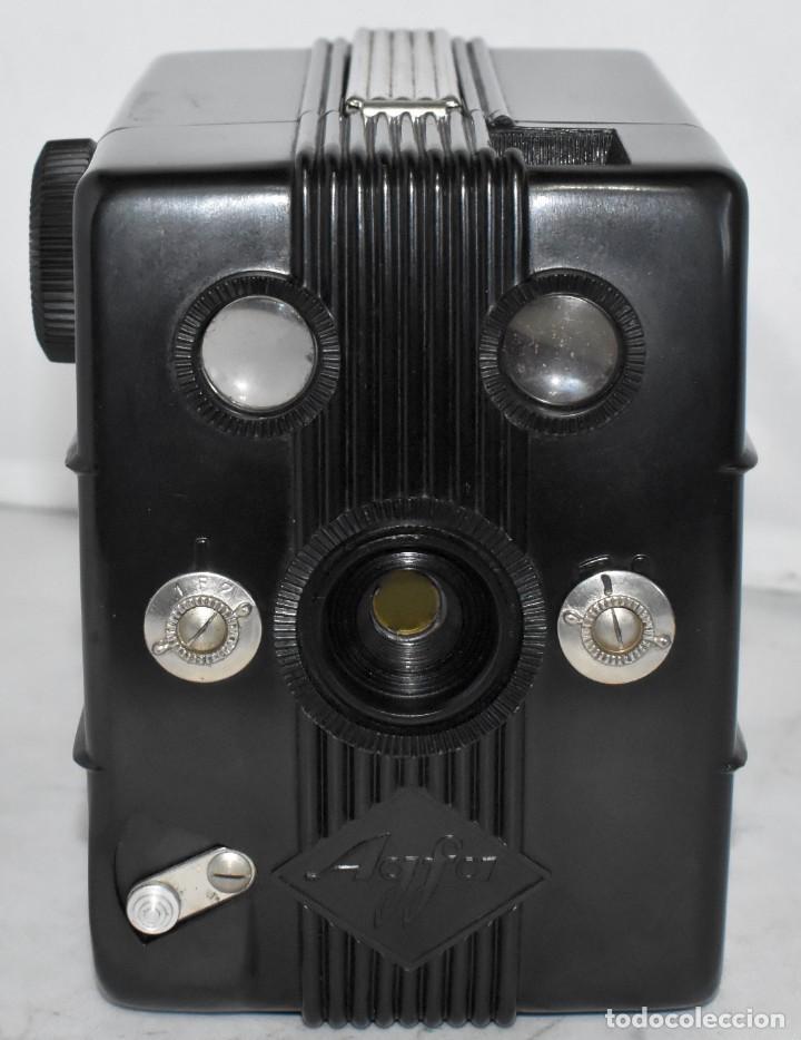 Cámara de fotos: RAREZA: BAQUELITA.FORMATO MEDIO.AGFA TROLIX.ALEMANIA III REICH,1936.MUY BUEN ESTADO.FUNCIONA.OCASION - Foto 4 - 219531051