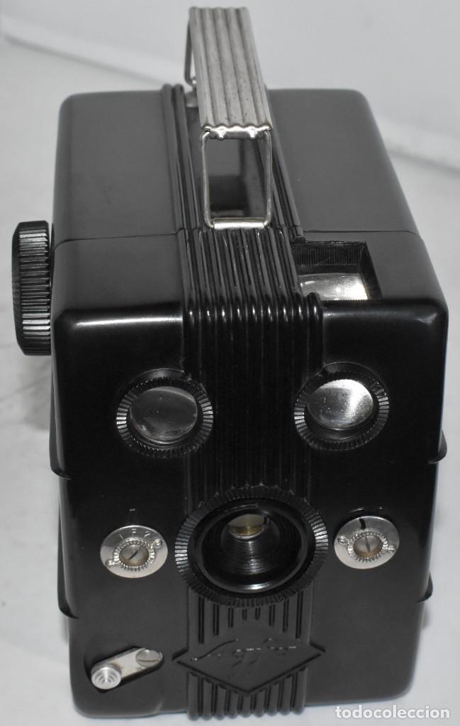 Cámara de fotos: RAREZA: BAQUELITA.FORMATO MEDIO.AGFA TROLIX.ALEMANIA III REICH,1936.MUY BUEN ESTADO.FUNCIONA.OCASION - Foto 7 - 219531051