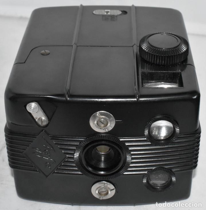 Cámara de fotos: RAREZA: BAQUELITA.FORMATO MEDIO.AGFA TROLIX.ALEMANIA III REICH,1936.MUY BUEN ESTADO.FUNCIONA.OCASION - Foto 16 - 219531051