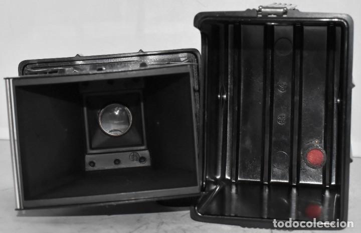 Cámara de fotos: RAREZA: BAQUELITA.FORMATO MEDIO.AGFA TROLIX.ALEMANIA III REICH,1936.MUY BUEN ESTADO.FUNCIONA.OCASION - Foto 22 - 219531051