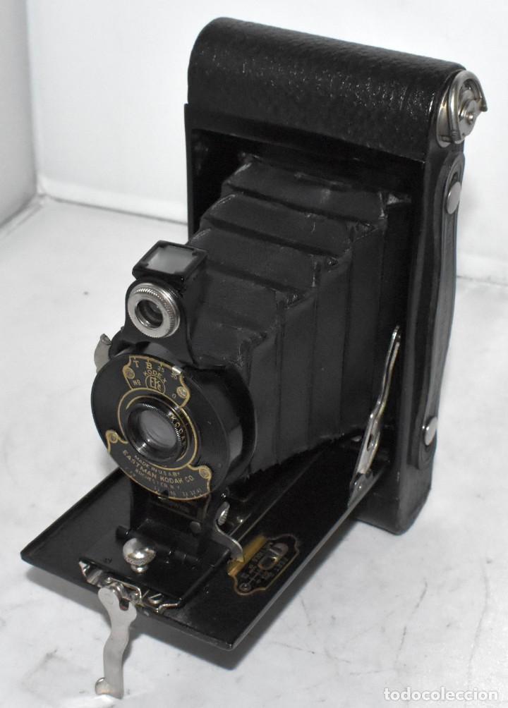 IMPRESCINDIBLE,RARA.KODAK Nº 2 FOLDING AUTOGRAPHIC BROWNIE.CANADA 1915/1926.MUY BUEN ESTADO.FUNCIONA (Cámaras Fotográficas - Antiguas (hasta 1950))