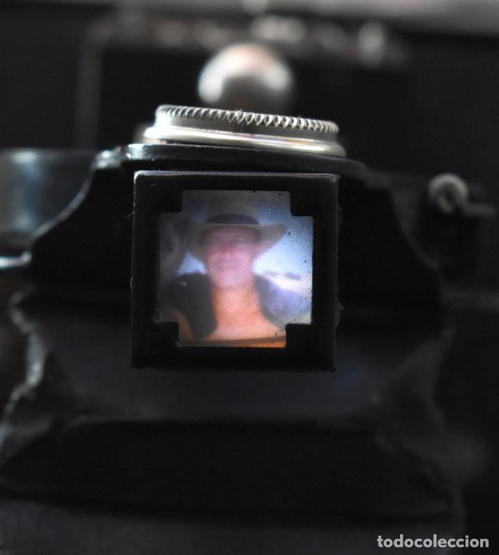 Cámara de fotos: IMPRESCINDIBLE,RARA.KODAK Nº 2 FOLDING AUTOGRAPHIC BROWNIE.CANADA 1915/1926.MUY BUEN ESTADO.FUNCIONA - Foto 10 - 219554143