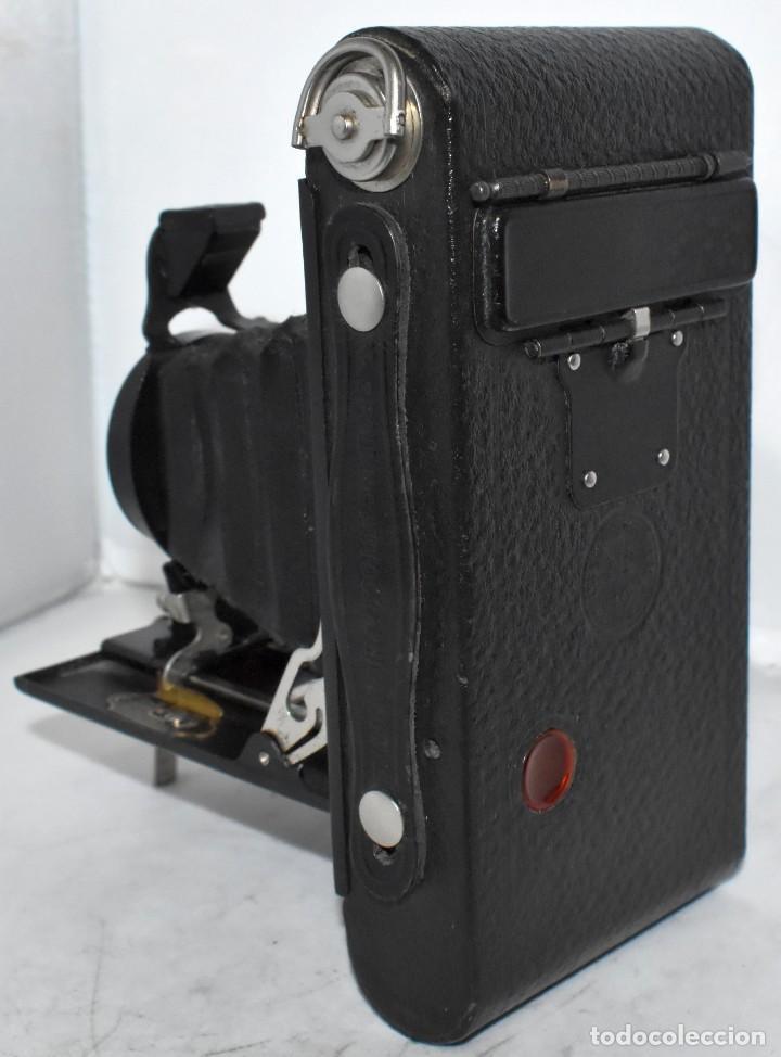 Cámara de fotos: IMPRESCINDIBLE,RARA.KODAK Nº 2 FOLDING AUTOGRAPHIC BROWNIE.CANADA 1915/1926.MUY BUEN ESTADO.FUNCIONA - Foto 16 - 219554143