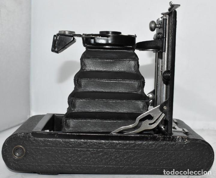 Cámara de fotos: IMPRESCINDIBLE,RARA.KODAK Nº 2 FOLDING AUTOGRAPHIC BROWNIE.CANADA 1915/1926.MUY BUEN ESTADO.FUNCIONA - Foto 21 - 219554143