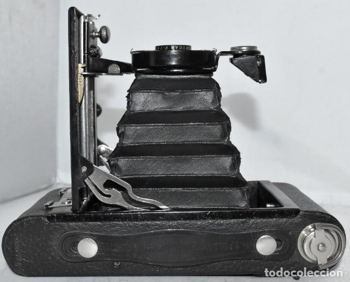 Cámara de fotos: IMPRESCINDIBLE,RARA.KODAK Nº 2 FOLDING AUTOGRAPHIC BROWNIE.CANADA 1915/1926.MUY BUEN ESTADO.FUNCIONA - Foto 23 - 219554143