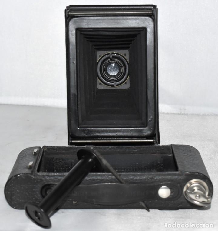 Cámara de fotos: IMPRESCINDIBLE,RARA.KODAK Nº 2 FOLDING AUTOGRAPHIC BROWNIE.CANADA 1915/1926.MUY BUEN ESTADO.FUNCIONA - Foto 27 - 219554143