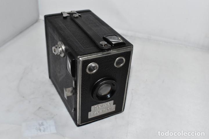 PRECIOSA CAMARA ANTIGUA DE CAJON..BALDA FRONT BOX..ALEMANIA III REICH, 1935.MUY BUEN ESTADO.FUNCIONA (Cámaras Fotográficas - Antiguas (hasta 1950))