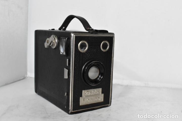 Cámara de fotos: PRECIOSA CAMARA ANTIGUA DE CAJON..BALDA FRONT BOX..ALEMANIA III REICH, 1935.MUY BUEN ESTADO.FUNCIONA - Foto 2 - 219587052