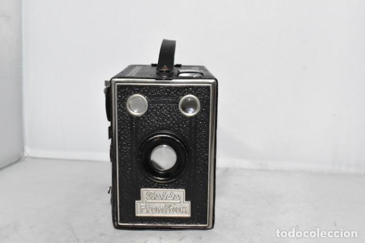 Cámara de fotos: PRECIOSA CAMARA ANTIGUA DE CAJON..BALDA FRONT BOX..ALEMANIA III REICH, 1935.MUY BUEN ESTADO.FUNCIONA - Foto 4 - 219587052