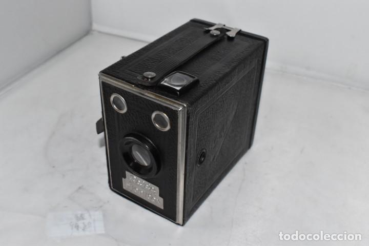 Cámara de fotos: PRECIOSA CAMARA ANTIGUA DE CAJON..BALDA FRONT BOX..ALEMANIA III REICH, 1935.MUY BUEN ESTADO.FUNCIONA - Foto 5 - 219587052