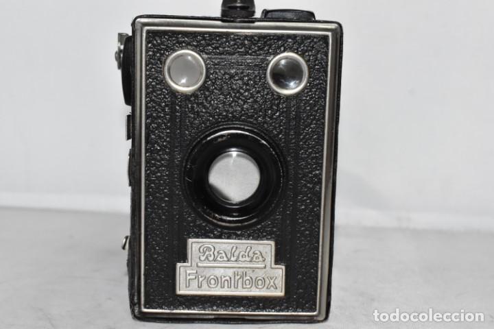 Cámara de fotos: PRECIOSA CAMARA ANTIGUA DE CAJON..BALDA FRONT BOX..ALEMANIA III REICH, 1935.MUY BUEN ESTADO.FUNCIONA - Foto 6 - 219587052