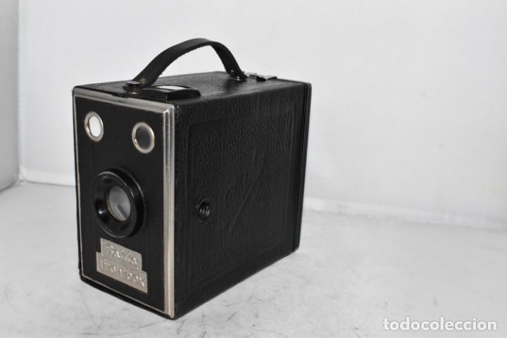 Cámara de fotos: PRECIOSA CAMARA ANTIGUA DE CAJON..BALDA FRONT BOX..ALEMANIA III REICH, 1935.MUY BUEN ESTADO.FUNCIONA - Foto 7 - 219587052