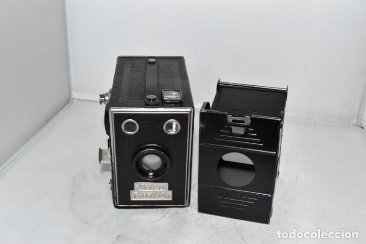 Cámara de fotos: PRECIOSA CAMARA ANTIGUA DE CAJON..BALDA FRONT BOX..ALEMANIA III REICH, 1935.MUY BUEN ESTADO.FUNCIONA - Foto 9 - 219587052