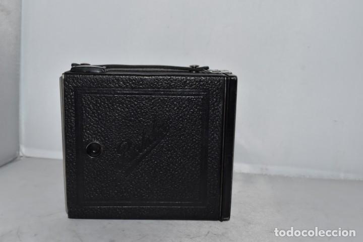 Cámara de fotos: PRECIOSA CAMARA ANTIGUA DE CAJON..BALDA FRONT BOX..ALEMANIA III REICH, 1935.MUY BUEN ESTADO.FUNCIONA - Foto 12 - 219587052