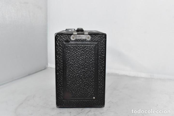 Cámara de fotos: PRECIOSA CAMARA ANTIGUA DE CAJON..BALDA FRONT BOX..ALEMANIA III REICH, 1935.MUY BUEN ESTADO.FUNCIONA - Foto 14 - 219587052