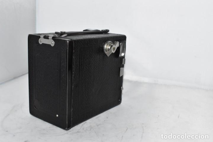 Cámara de fotos: PRECIOSA CAMARA ANTIGUA DE CAJON..BALDA FRONT BOX..ALEMANIA III REICH, 1935.MUY BUEN ESTADO.FUNCIONA - Foto 15 - 219587052