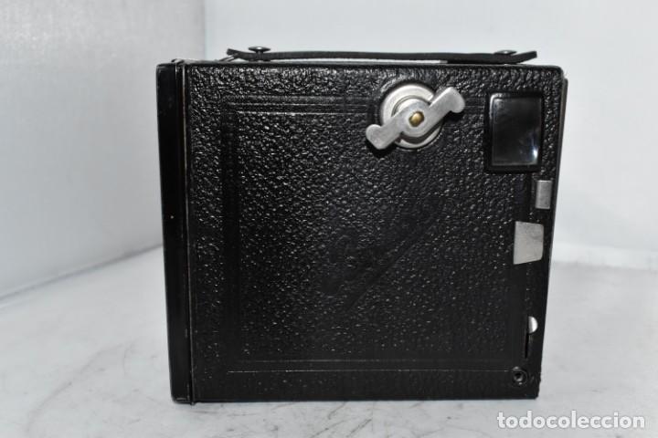 Cámara de fotos: PRECIOSA CAMARA ANTIGUA DE CAJON..BALDA FRONT BOX..ALEMANIA III REICH, 1935.MUY BUEN ESTADO.FUNCIONA - Foto 16 - 219587052