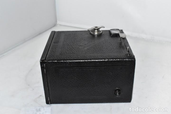 Cámara de fotos: PRECIOSA CAMARA ANTIGUA DE CAJON..BALDA FRONT BOX..ALEMANIA III REICH, 1935.MUY BUEN ESTADO.FUNCIONA - Foto 17 - 219587052