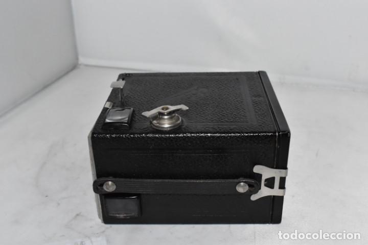 Cámara de fotos: PRECIOSA CAMARA ANTIGUA DE CAJON..BALDA FRONT BOX..ALEMANIA III REICH, 1935.MUY BUEN ESTADO.FUNCIONA - Foto 18 - 219587052