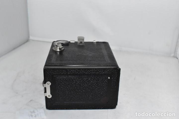 Cámara de fotos: PRECIOSA CAMARA ANTIGUA DE CAJON..BALDA FRONT BOX..ALEMANIA III REICH, 1935.MUY BUEN ESTADO.FUNCIONA - Foto 19 - 219587052