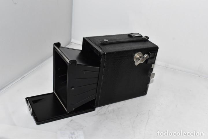Cámara de fotos: PRECIOSA CAMARA ANTIGUA DE CAJON..BALDA FRONT BOX..ALEMANIA III REICH, 1935.MUY BUEN ESTADO.FUNCIONA - Foto 20 - 219587052