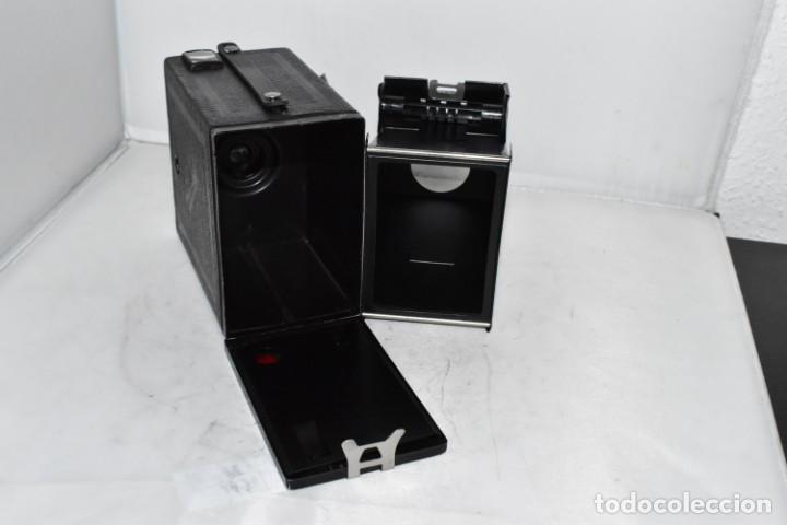 Cámara de fotos: PRECIOSA CAMARA ANTIGUA DE CAJON..BALDA FRONT BOX..ALEMANIA III REICH, 1935.MUY BUEN ESTADO.FUNCIONA - Foto 21 - 219587052