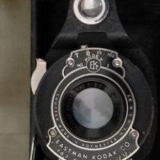 Cámara de fotos: ANTIGUA CAMARA FOTOGRAFICA DE FUELLE EASTMAN KODAK NO 2A DOLDING HAWK ETE MODEL B. Lote 219854992