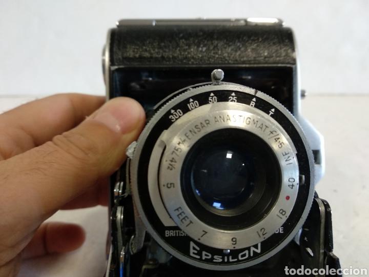 Cámara de fotos: Rareza.ENSIGN SELFIX 16-20 .1950 .Funciona - Foto 11 - 220614396