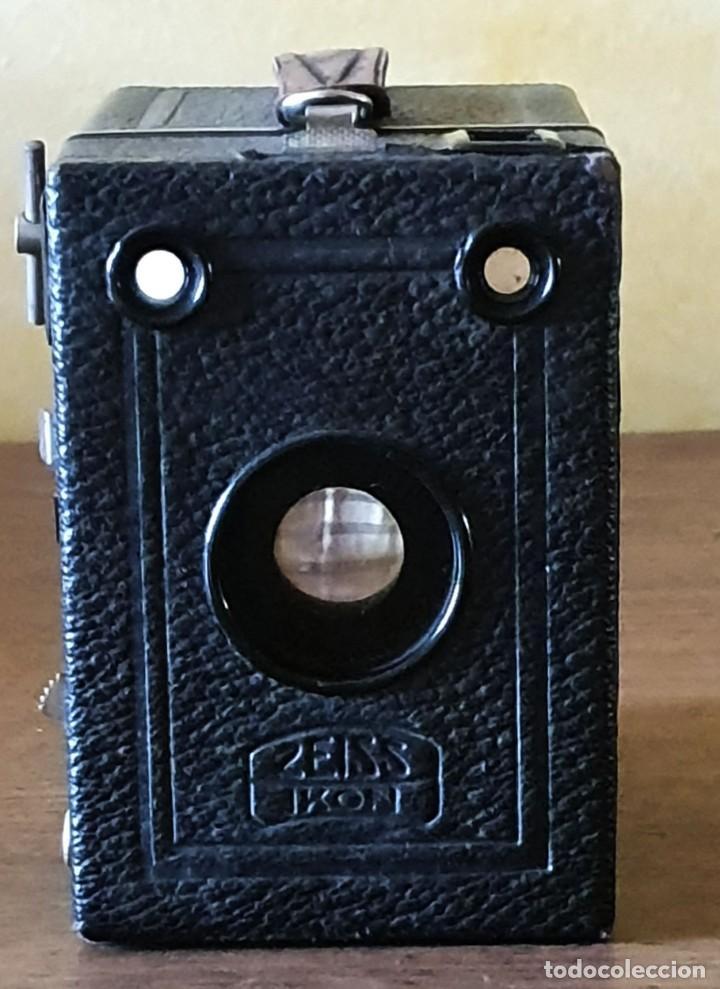 CAMARA FOTOGRAFICA ZEISS IKON, BOX TENGOR - AÑOS 20. (Cámaras Fotográficas - Antiguas (hasta 1950))