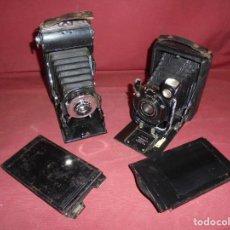 Appareil photos: MAGNIFICAS DOS CAMARAS ANTIGUAS DE FOTOS. Lote 221001591