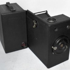 Cámara de fotos: CENTENARIA. DE MADERA..GRAN FORMATO.ALEMANIA 1920..ERNEMANN FILM K, 6,5 X11.MUY BUEN ESTADO.FUNCIONA. Lote 221385480