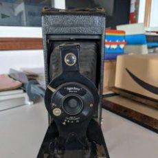 Cámara de fotos: CAMARA FOTOGRAFICA GRAN TAMAÑO SYNCHRO - FABRICADA EN LONDRES - BUEN ESTADO AÑO 1915. Lote 221781148