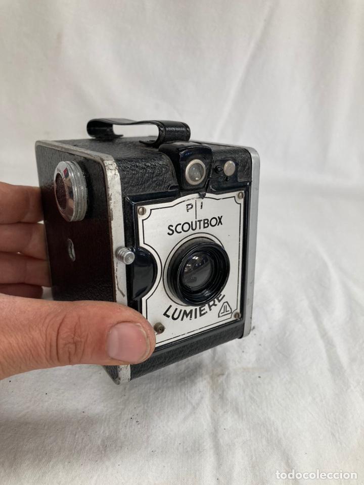 ANTIGUA CAMARA DE FOTOS LUMIERE SCOUTBOX! (Cámaras Fotográficas - Antiguas (hasta 1950))