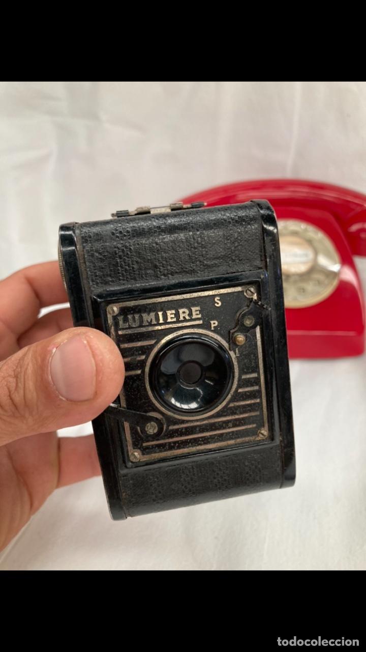 ANTIGUA CAMARA DE FOTOS LUMIERE! (Cámaras Fotográficas - Antiguas (hasta 1950))
