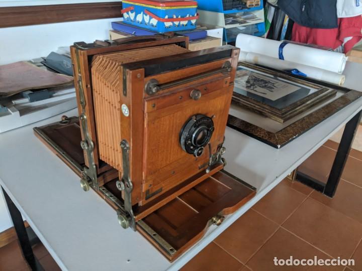 PRINCIPIOS SIGLO XX CAMARA FUELLE ZEISS PERFECTO ESTADO OPTICA COMPUR ZEISS IKON (Cámaras Fotográficas - Antiguas (hasta 1950))