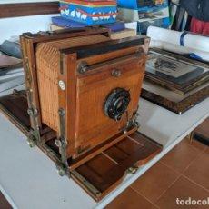 Cámara de fotos: PRINCIPIOS SIGLO XX CAMARA FUELLE ZEISS PERFECTO ESTADO OPTICA COMPUR ZEISS IKON. Lote 221902630